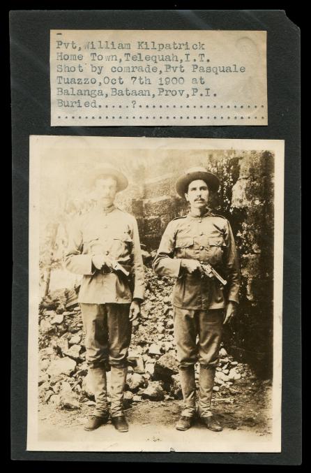 Kilpatrick with Revolver