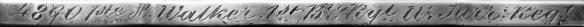 Henry Walker 1895 IGSM Rim