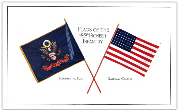 Colors of the 805th