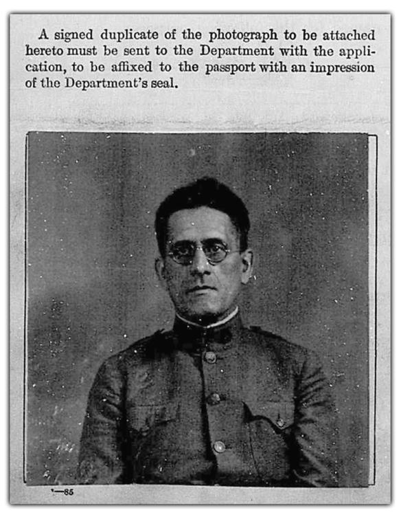 John Osborne Powell Passport Photo
