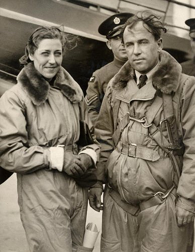 J A Mollison Amy Johnson