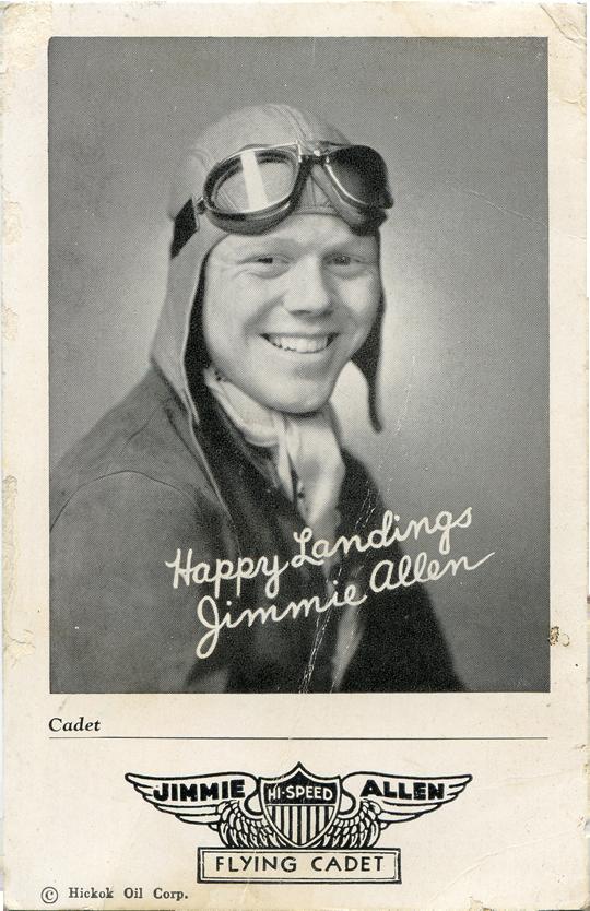 Jimme Allen Postcard