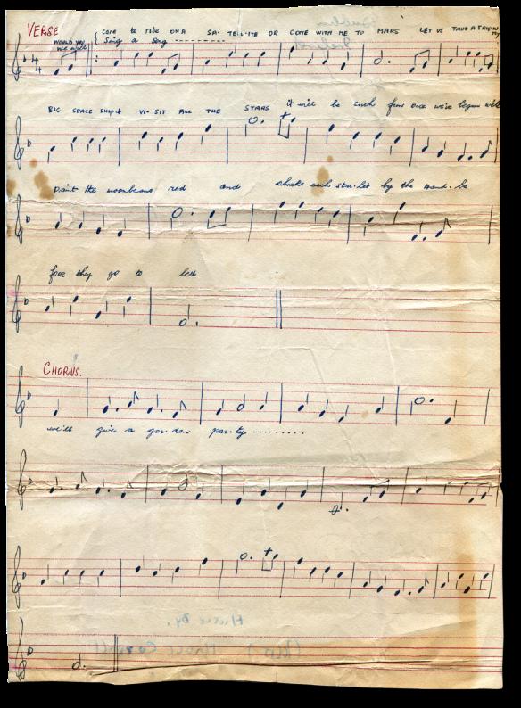 Mars Song Music