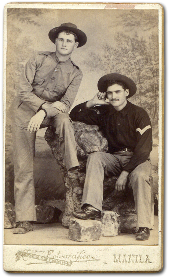 Clyde Wilson and Elmer Brick