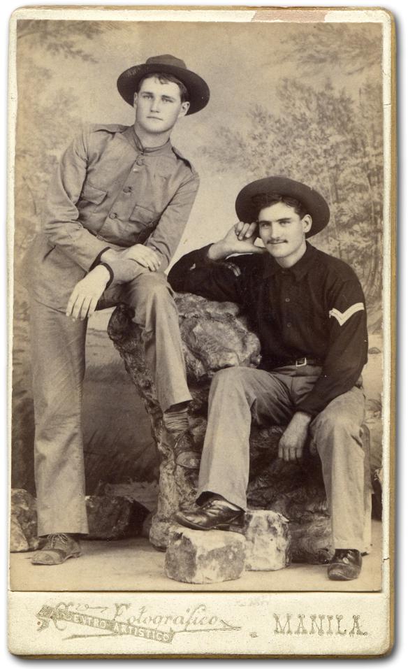 Clyde Wilson and Elmer Brick