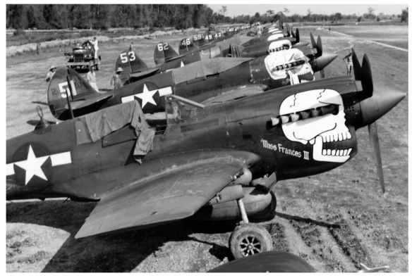 P-40Ns 88th FS